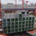 シンガポールクラウンプラザホテルコンテナホテル10階建て3