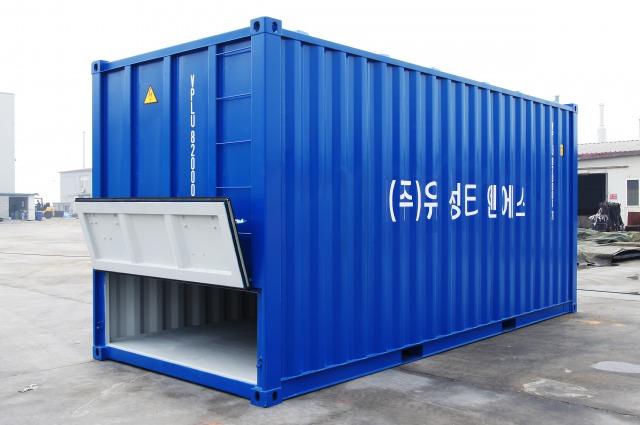 ISO海上輸送コンテナ‐バルクコンテナ