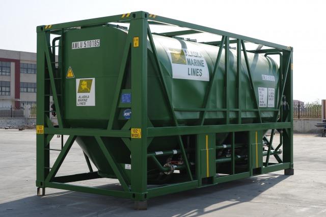 ISO海上輸送コンテナ‐セメントバルクコンテナ
